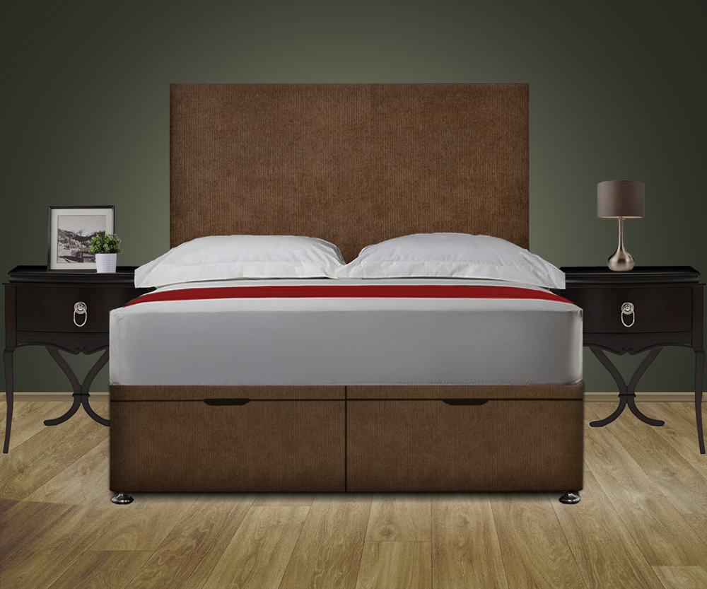 Classico Ottoman Storage Bed With Headboard And